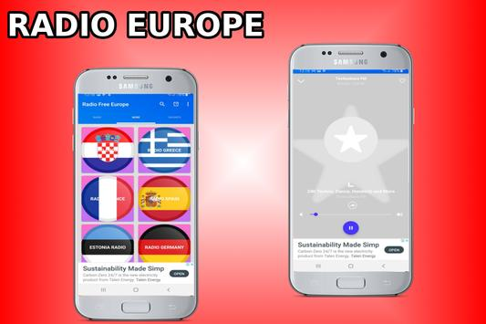 Radio Free Europe - Radio Europe - Europe Radio screenshot 4