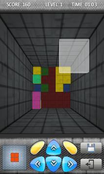Blockout 3D FREE screenshot 2