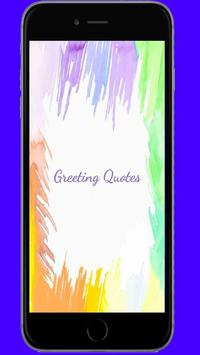 Greeting Quotes poster