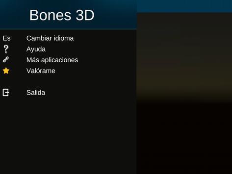 Sistema Oseo en 3D (anatomía) captura de pantalla 22