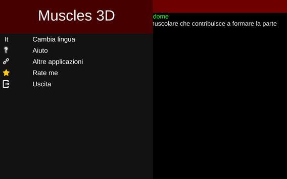 14 Schermata Sistema Muscolare in 3D (Anatomia).