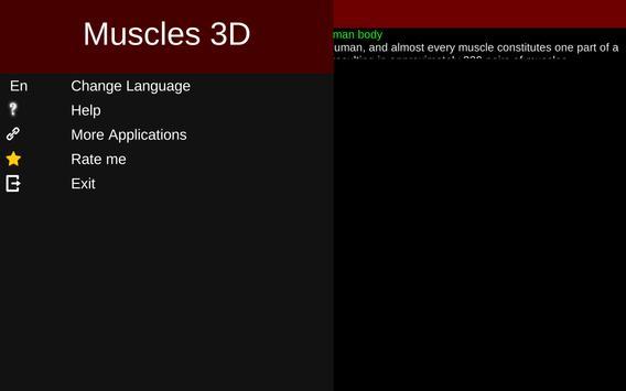 Muscular System 3D (anatomy) Ekran Görüntüsü 15