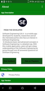 Software Engineering Q & A screenshot 4