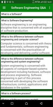 Software Engineering Q & A screenshot 6
