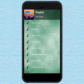 Lagu Tipe-X Mp3 screenshot 4