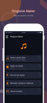 Klingelton Maker-MP3-Cutter Plakat