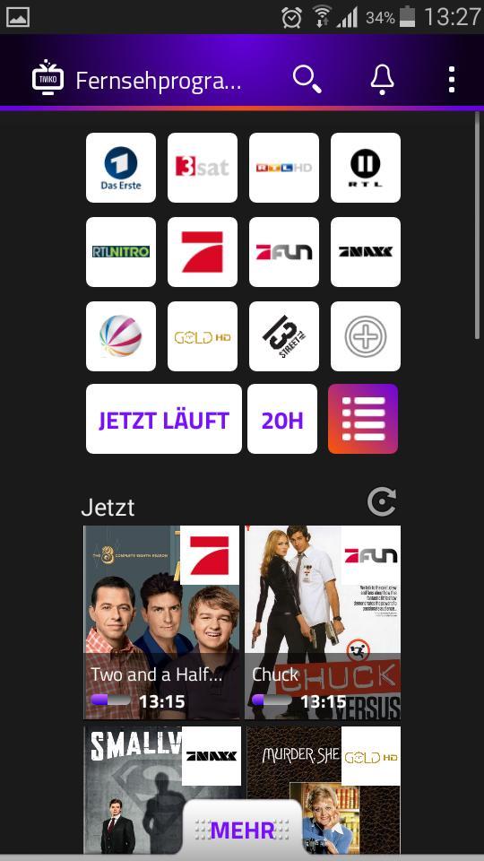Fernsehprogramm App Kostenlos
