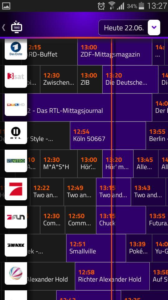 Fernsehprogramm One