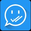 Shh - Ocultar Doble Check Azul icono