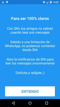 Shh 😏 No Last Seen or Read تصوير الشاشة 3