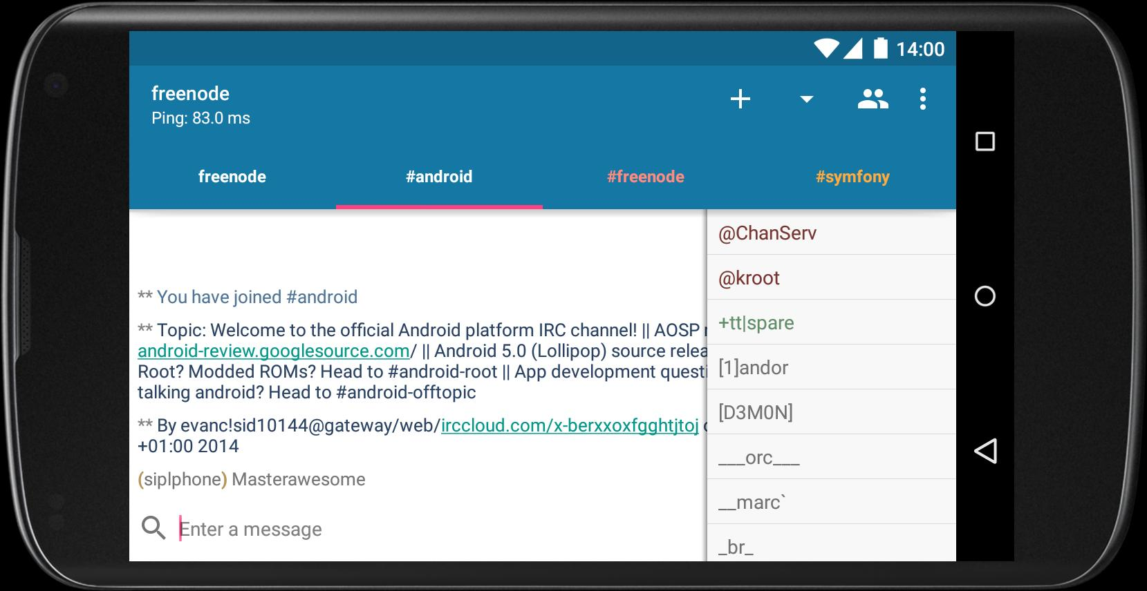 AndroIRC for Android - APK Download