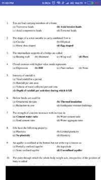 Civil Engineering Exam Guru screenshot 6