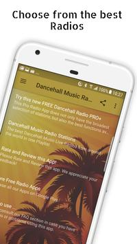 Dancehall Music Radio Stations Poster