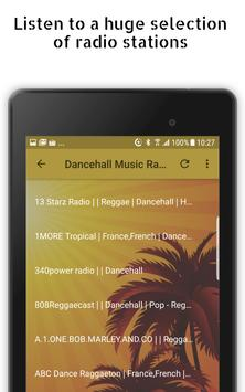 Dancehall Music Radio Stations captura de pantalla 7