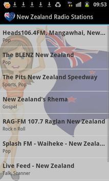 New Zealand Radio Music & News poster