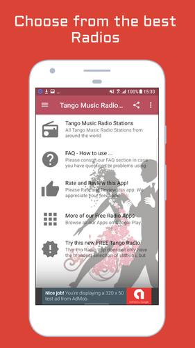 how to use tango app