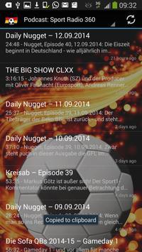 Sport Radio Deutschland 截圖 3