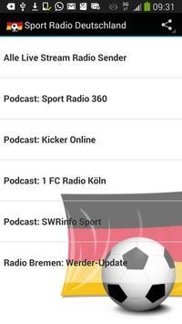 Sport Radio Deutschland 海報