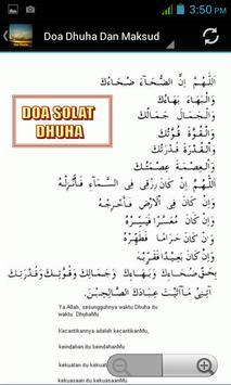 Doa Dhuha screenshot 1