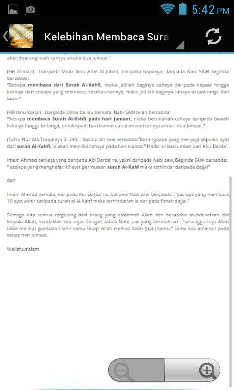 Surah Kahfi Ayat Pelindung For Android Apk Download