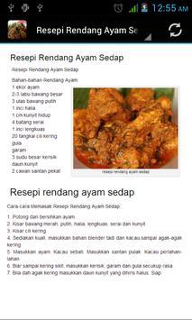 Resepi Rendang screenshot 2