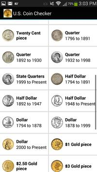 U.S. Coin Checker screenshot 1