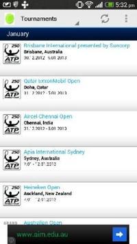 Tennis Live screenshot 2