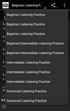 Korean Listening Practice screenshot 2