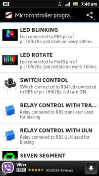 Microcontroller programs poster
