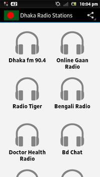 Dhaka Radio Stations पोस्टर