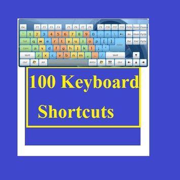 100 Keyboard Shortcuts poster