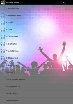 World Pop Radio poster
