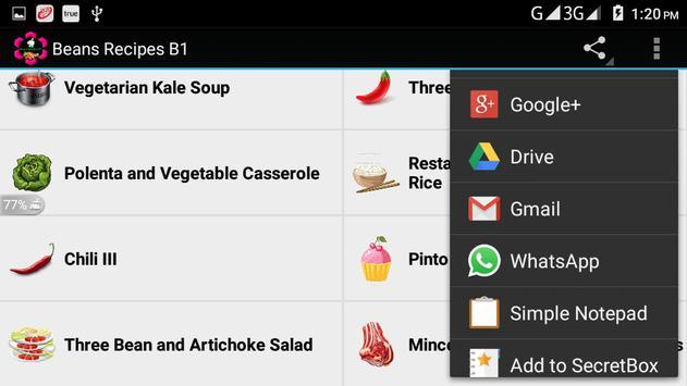 Beans Recipes B1 screenshot 13
