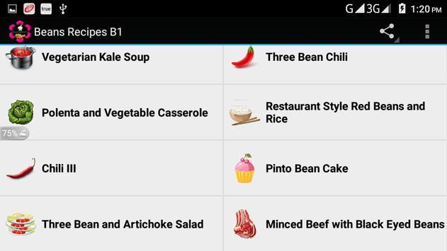 Beans Recipes B1 screenshot 5
