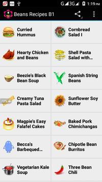 Beans Recipes B1 screenshot 8