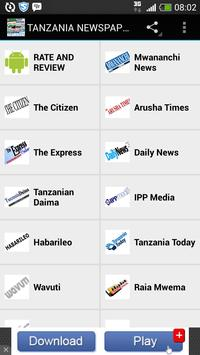 TANZANIA NEWSPAPERS screenshot 4
