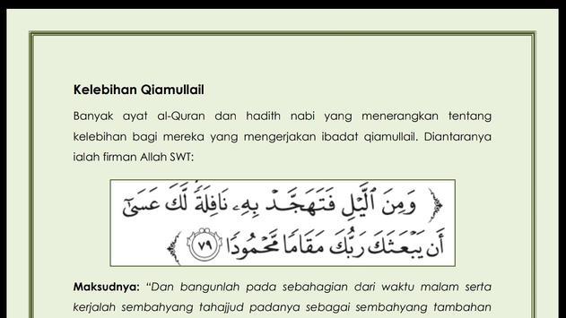 PANDUAN QIYAMUL-LAIL screenshot 6