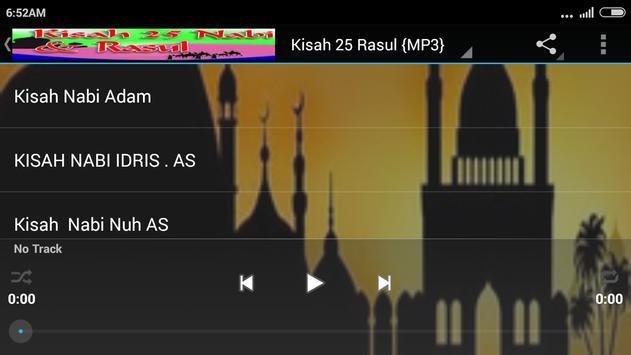 Kisah 25 Rasul Lengkap {MP3} screenshot 7