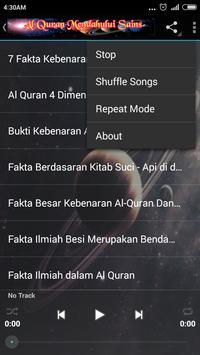 Al Quran VS Fakta Sains {MP3} screenshot 14