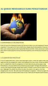 Al Quran VS Fakta Sains {MP3} screenshot 20