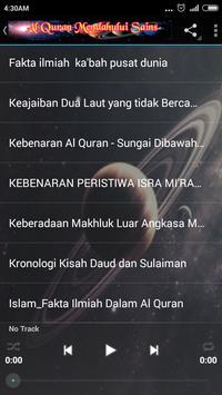 Al Quran VS Fakta Sains {MP3} screenshot 4