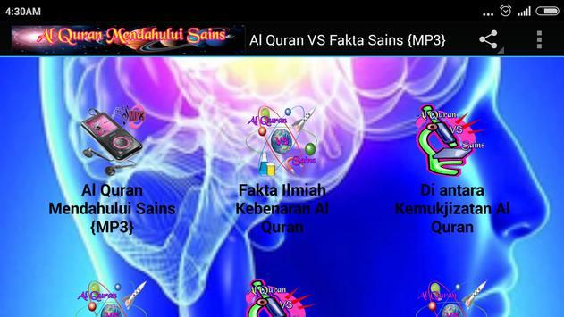 Al Quran VS Fakta Sains {MP3} screenshot 5