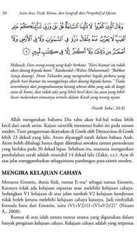 Al Quran VS Fakta Sains {MP3} screenshot 6