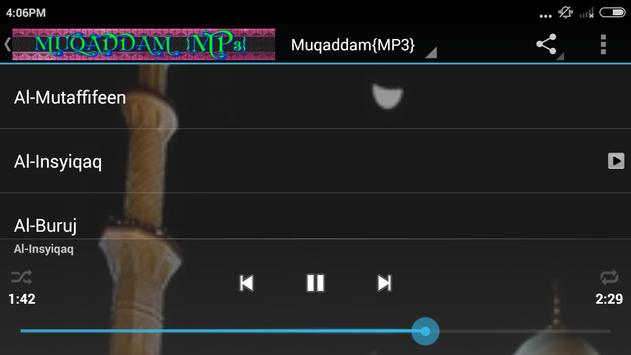 {MP3}Muqaddam/Juz Amma screenshot 3
