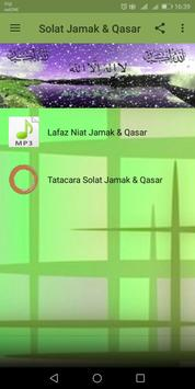 Solat Jamak & Qasar screenshot 3