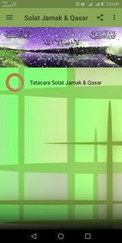 Solat Jamak & Qasar poster