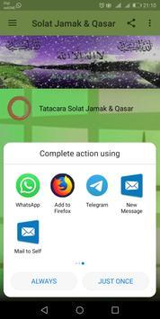 Solat Jamak & Qasar screenshot 10