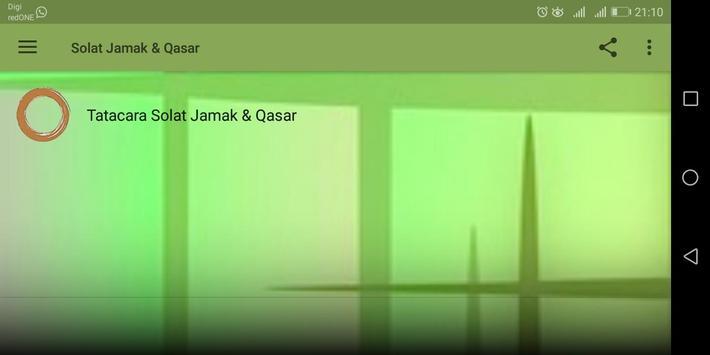 Solat Jamak & Qasar screenshot 11
