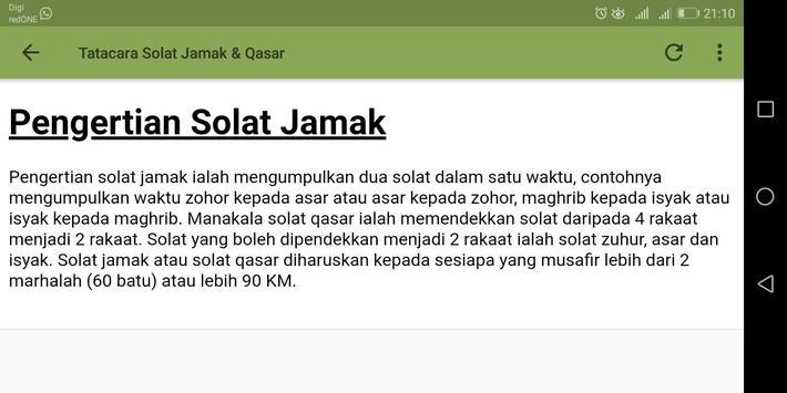 Solat Jamak & Qasar screenshot 5