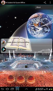 Al Sudais Full Quran Offline poster